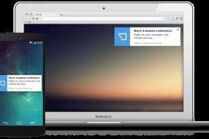 WEBサイトへの再訪問を促せる「プッシュ通知」は独自アプリがなくても送れるぞ!