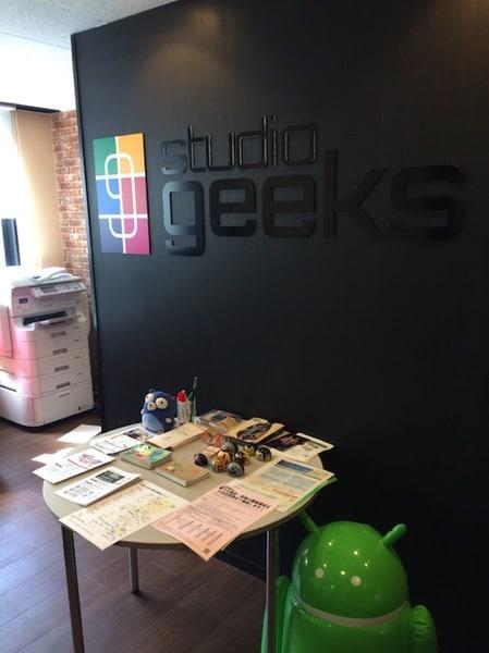 文京区の本郷三丁目にあるコワーキングスペース「studio geeks」に行ってきた。