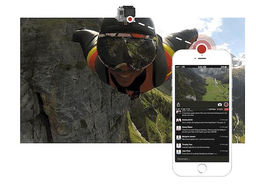 GoProとiPhoneがあればライブ配信ができる時代の訪れ。