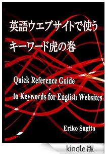 海外向けの英語サイトで正しい英語表記するための必読書【Kindle版】