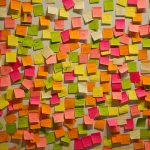 複数枚のポストイットを認識出来るiPhoneのポストイットアプリが萌える。