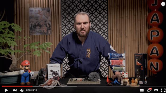 【商品紹介動画 事例】RØDEの外部マイクを紹介する動画がエンターテイメント性もあって面白い!