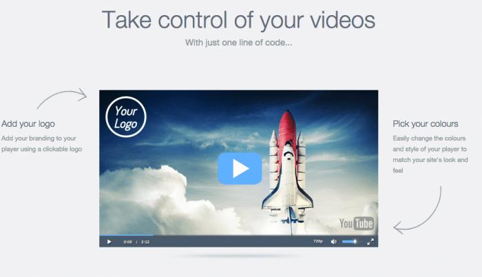 WEBサイトに埋め込んだYouTubeの動画をカスタマイズできるWEBサービス【reEmbed】