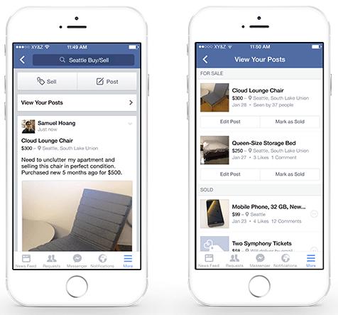 Facebookグループで売買できるようになる?!販売機能が導入されるらしい。