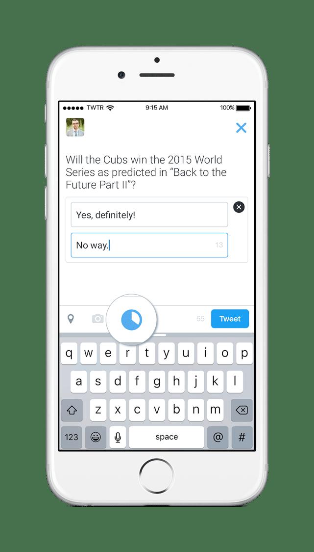 Twitterが世論調査を実装!ツィートで2択形式アンケートを取れるようになった!