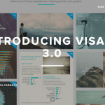 FacebookやInstagram向けの画像が作れる「Visage」はグラフの追加機能がステキだった。