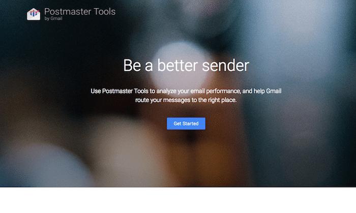Google公式の迷惑メール判定チェックツール「Postmaster Tools」