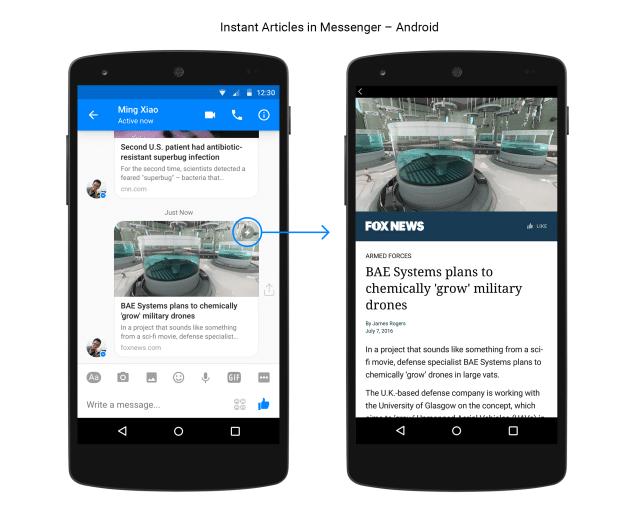 出典元:Introducing Instant Articles in Messenger | Facebook Media