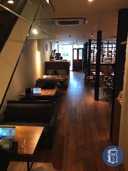 TIMES CAFEのソファ席