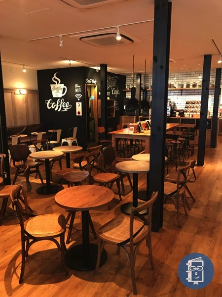 TIMES CAFEの店内