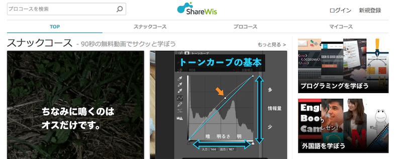 オンライン学習のShareWis