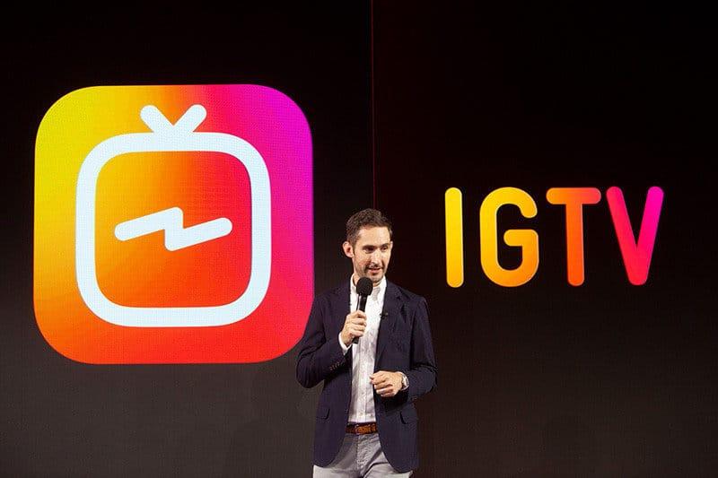 Instagramが「IGTV」がを発表!最大10分までの縦長動画を投稿できる動画アプリが登場!