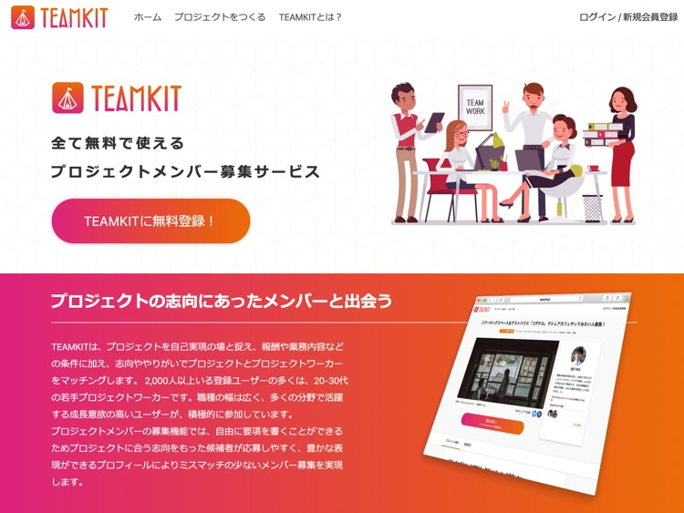 TEAMKIT(チームキット)