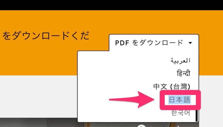 オンライン授業のやり方(ツールの使い方を含む)が説明されているPDF資料(日本語)をダウンロードする